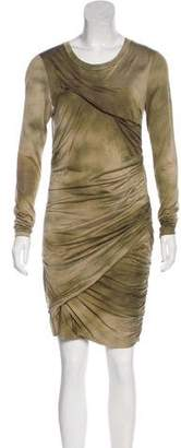 Isabel Marant Silk Drape Dress
