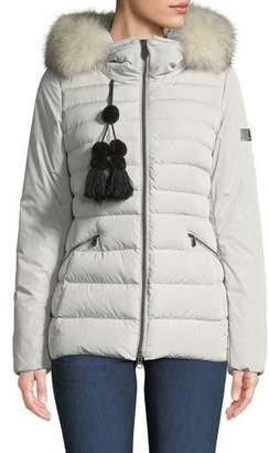 Peuterey Turmalet Puffer Jacket w/ Detachable Fur