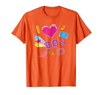 I Love 80s Eighties Retro T-Shirt Vintage Pop Rave Party