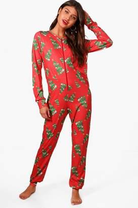 boohoo Christmas Tree Onesie