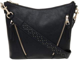 NEW Piper Lara Stud Hobo Bag PH-0015 Black