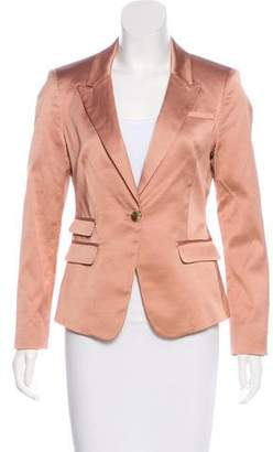Elizabeth and James Satin Structured Blazer w/ Tags