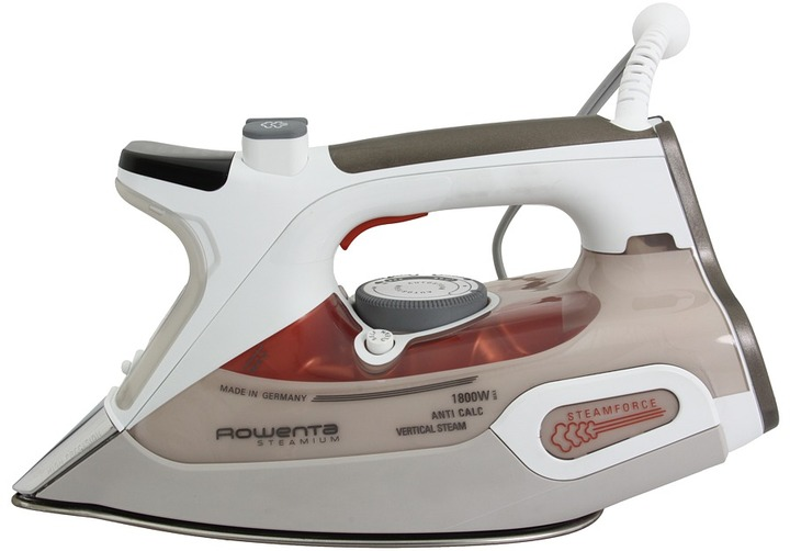 Rowenta DW9080003 Steamium Iron (White/Tan) - Home