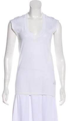 Isabel Marant Knit Short Sleeve Top