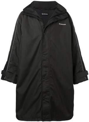 Balenciaga Padded lining raincoat