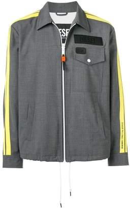 Diesel zipped shirt jacket