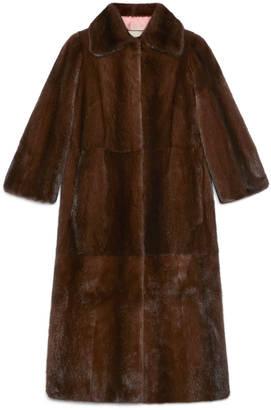 Tiger intarsia mink coat $34,000 thestylecure.com