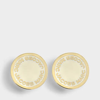 Marc Jacobs Logo Disc studs