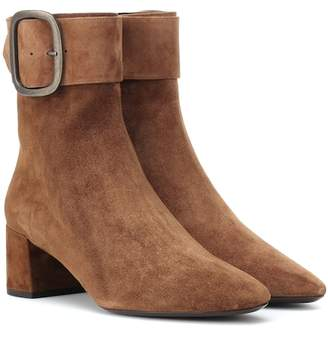 Saint Laurent Joplin 50 suede ankle boots