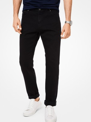 Michael Kors Parker Slim-Fit Stretch-Selvedge Jeans