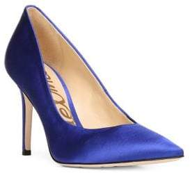 Sam Edelman Hazel Pointed Toe Satin Pumps