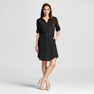 Women's Convertible Sleeve Dress - Mossimo $27.99 thestylecure.com