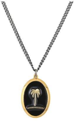 Miansai Palm Tree Pendant Necklace