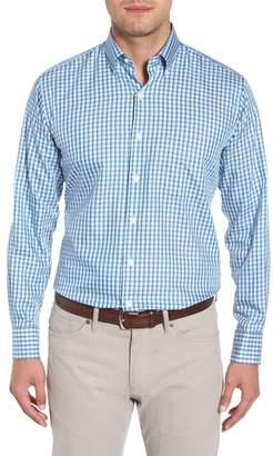 Peter Millar Crown Soft Eastlake Check Sport Shirt