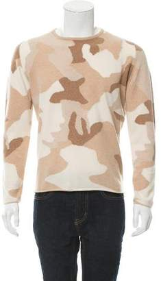 Richard Grand Camouflage Cashmere Sweater w/ Tags