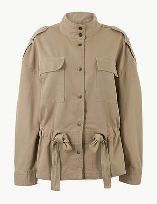 Marks and Spencer Belted Utility Jacket