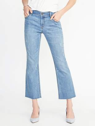 Old Navy Cropped Flare Ankle Jeans for Women