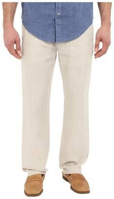 Perry Ellis Drawstring Linen Pants Men's Casual Pants