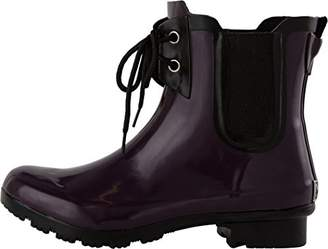 Roma Boots Roma Women's Chelsea Lace-up Rain Boots