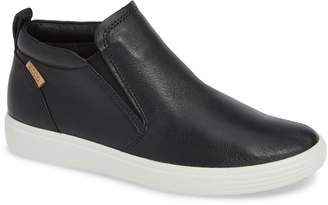 Ecco Soft 7 Slip-On High Top Sneaker