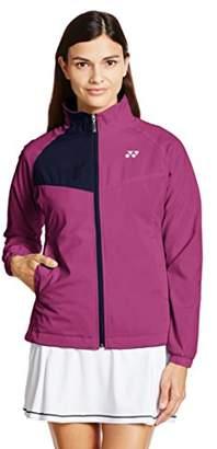 Yonex (ヨネックス) - (ヨネックス) YONEX テニス 裏地付ウィンドウォーマーシャツ(フィットスタイル) 78046 [レディース] 123 ローズピンク LR