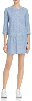 Soft Joie Amiri Drop-Waist Shirt Dress $198 thestylecure.com