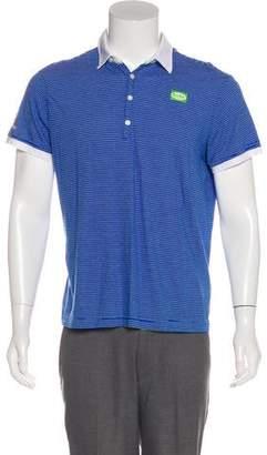 G Star Striped Polo Shirt