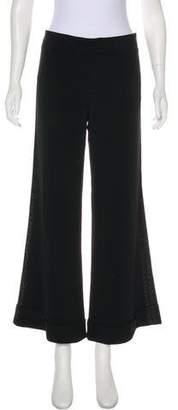 LaROK Mid-Rise Wide-Leg Pants
