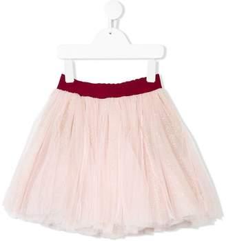 MonnaLisa glitter tulle skirt