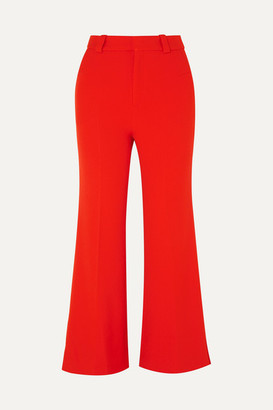 Roland Mouret Dilman Stretch-cady Flared Pants - UK8
