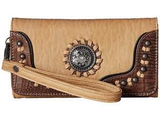 M&F Western Kinsey Clutch Wallet