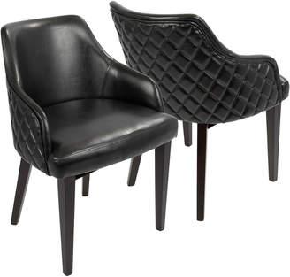 Lumisource Set Of 2 Esteban Dining Chairs