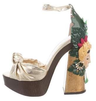 Charlotte Olympia Brazilian Bombshell Sandals w/ Tags