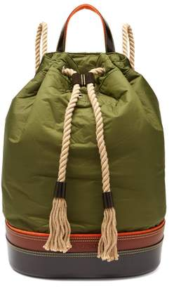 J.W.Anderson Sailor Duffle Backpack - Mens - Khaki