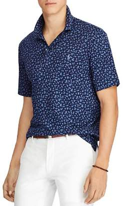 Polo Ralph Lauren Floral Classic Fit Soft-Touch Short Sleeve Polo Shirt