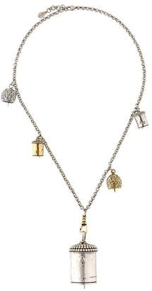 Alexander McQueen double chain necklace