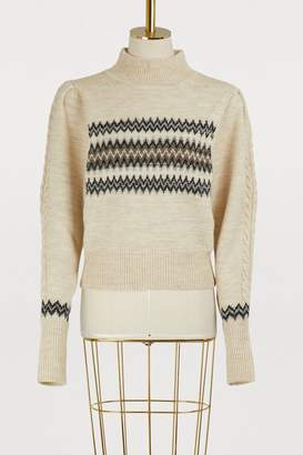 Isabel Marant Demi wool and cotton sweater