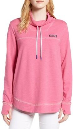 Women's Vineyard Vines Sunwashed Funnel Neck Sweatshirt $125 thestylecure.com