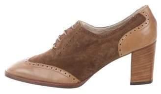 Gucci Vintage Wingtip Booties Brown Vintage Wingtip Booties