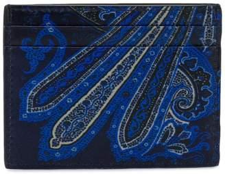 Etro paisley print cardholder