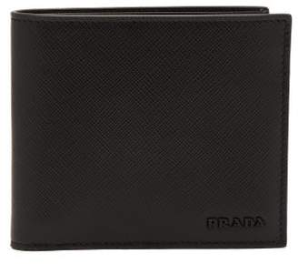 Prada - Tri Colour Leather Bi Fold Wallet - Mens - Black Multi