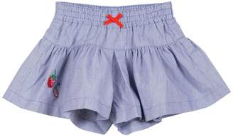 Catimini Girls Embroidered Short Culottes
