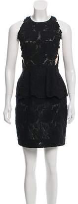 Stella McCartney Embroidered Mini Dress