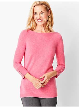 Talbots Cashmere Bateau-Neck Sweater