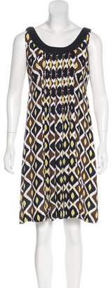 Tory Burch Printed Sleeveless Dress