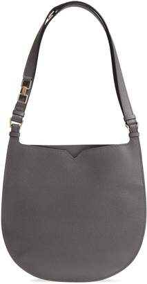 Valextra Weekend Medium Leather Hobo