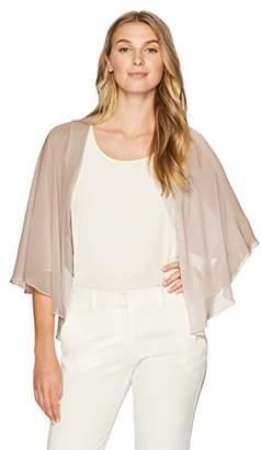S.L. Fashions Women's Poly Chiffon Shrug Jacket