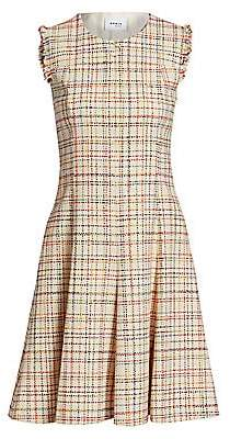 Akris Punto Women's Sleeveless Roundneck Tweed Dress