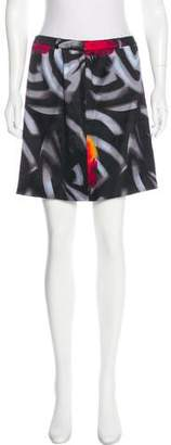 Gianni Versace Silk-Blend Skirt