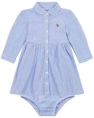 Polo Ralph Lauren Striped Shirt Dress with Bloomers